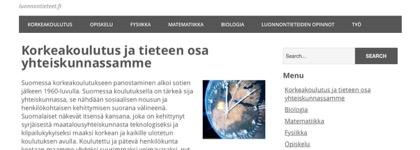 Luonnontieteet.fi