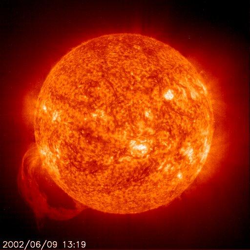 Auringon koko