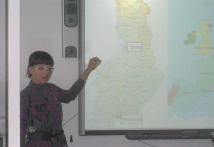 Maantieteen opettaja oppii jatkuvasti uutta