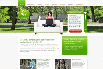 Kansallinen etätyöpäivä 16.9.2011