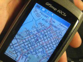 GPS:ää ja opiskelijaelämää