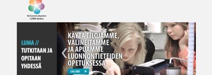 Itä-Suomen yliopiston LUMA-keskus