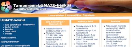 Tampereen LUMATE-keskus