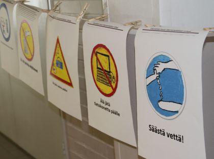 Oulun kouluissa on kisailtu ekoteoissa