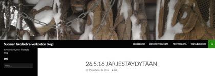 Suomalainen GeoGebra-verkosto