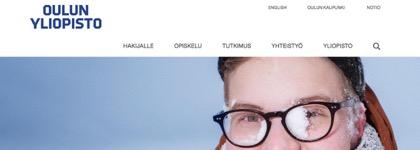 Oulun yliopisto - Hae opiskelijaksi