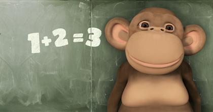 Apinat kannustavat lapsia matematiikan pariin!
