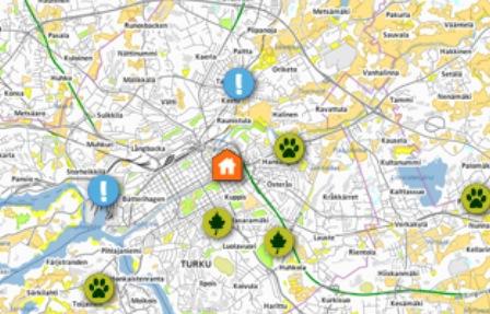 Paikkatiedon opetusta verkossa - PaikkaOpin verkkopalvelu tutuksi