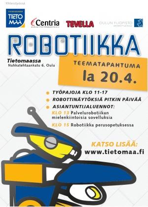 Robotiikka-teemapäivä Tietomaassa