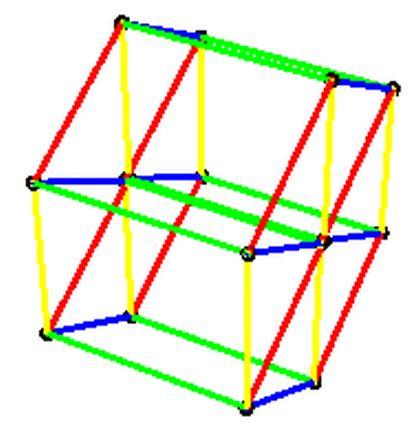 Neliulotteinen kuutio