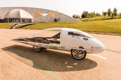 CUER Aurinkoauto on julkistettu!