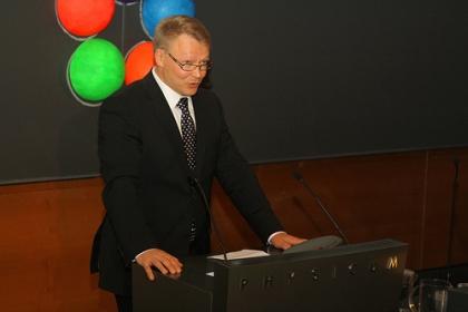 LUMA-keskus Suomen puheenjohtaja Pekka Hirvonen