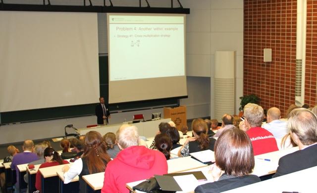 LUMA-aineiden opettajia ja opetuksen tutkijoita koolla Oulussa