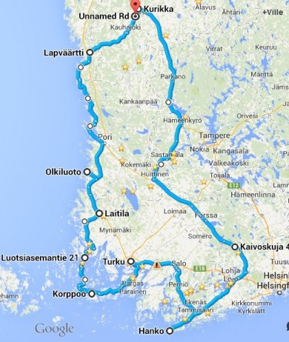 Road Trip Suomessa