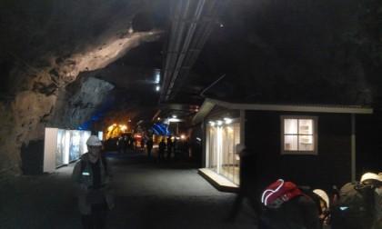 LKABn vierailukeskusalue Kiirunavaaran uumenissa (4)