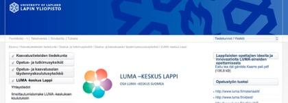 LUMA-keskus Lappi