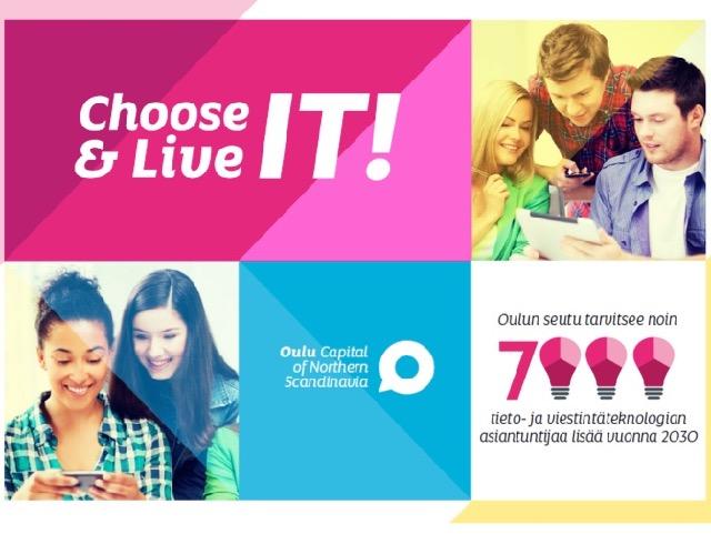 Choose ICT – fiksu valitsee ICT-alan!