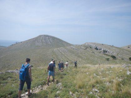 Upeita maisemia kenttäkurssilla Kornatin saarella (1)