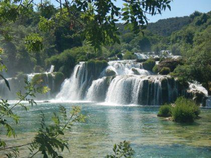 Vierailimme kansallispuisto Krkassa (1)