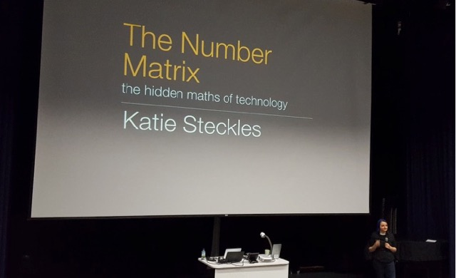 """I get to play with maths for a living"" – Katie Stecklesin vierailu Oulussa"