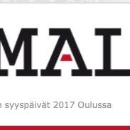 Matemaattis-luonnontieteellisten alojen Akateemiset ry:n syyspäivät Oulussa 7.–8.10.2017