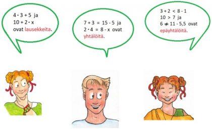 Alakoulun aritmetiikkaa uusin silmin -materiaali