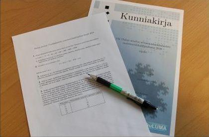 Oulun seudun 7.-luokkalaisten matematiikkamestari kruunattiin Oulun yliopistolla käydyssä finaalissa